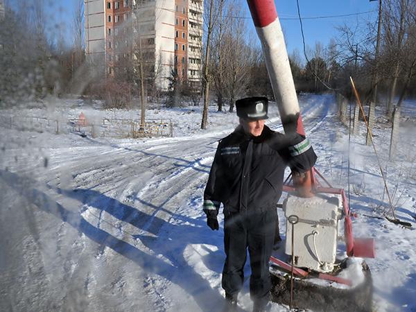 Въезд в Припять. Фото: Владимир Бородин/The Epoch Times