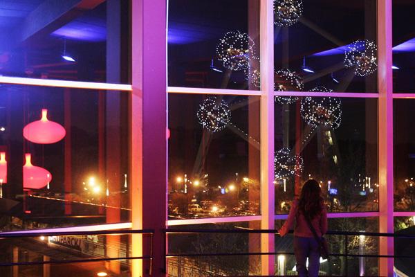 The Atomium в Брюсселе (Бельгия). Фото: Mark Renders/Getty Images