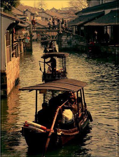 Древний посёлок Учжэнь. Фото с baike.baidu.com