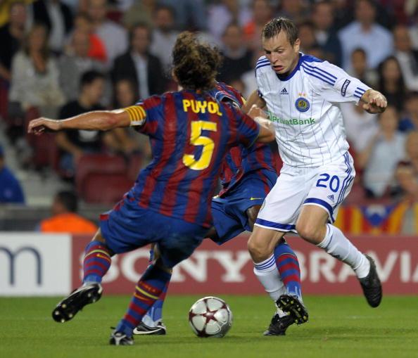 Барселона - Динамо фото:LLUIS GENE,Jasper Juinen /Getty Images Sport