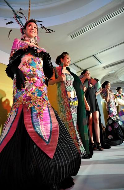 На Филиппинах прошел конкурс крастоты/TED ALJIBE/AFP/Getty Images