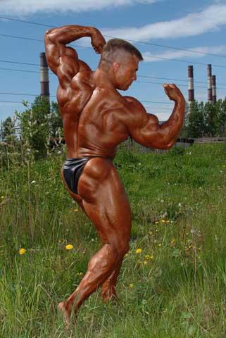 Культуризм без стероидов — трудновыполнимая, но реальная задача. Александр Вишневский. Фото: vishnevskiy.ru
