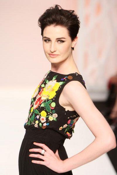 Эрин О' Коннер на Лондонской Неделе Моды. Фото: Gareth Cattermole/Getty Images