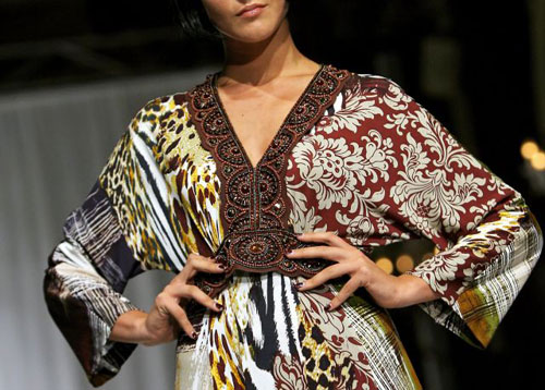 Неделя высокой моды Осень/Зима 2008 Haute Couture в Риме. Фото: AFP / Filippo MONTEFORTE