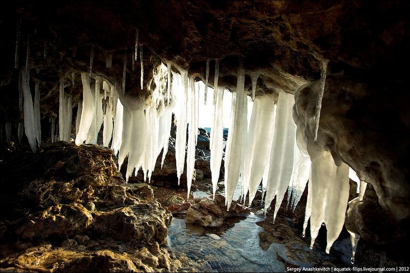 Крижані гроти Херсонеса. Фото: aquatek-filips.livejournal.com