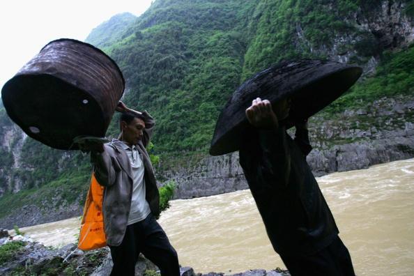 Местные жители. Фото: China Photos/Getty Images