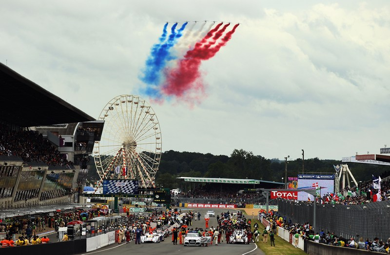 Ле-Ман, Франція, 16 червня. На трасі Сарте довжиною 13 650 м пройшла знаменита автомобільна гонка на витривалість «24 години Ле-Мана». Фото: Bryn Lennon/Getty Images