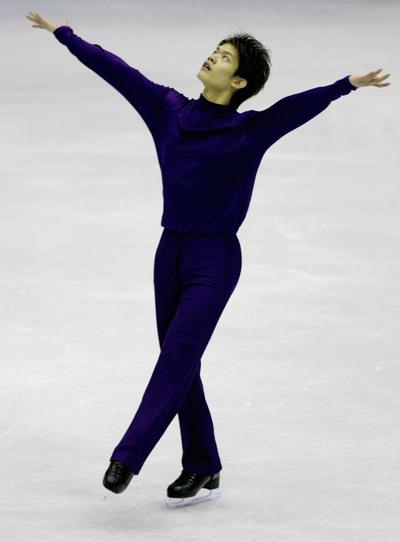 Такахико Козука (Япония) исполняет произвольную программу. Фото: Chung Sung-Jun/Getty Images)