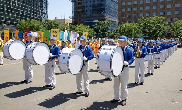 Корея. Колона Небесного оркестру Фото: Хун Мей/The Epoch Times