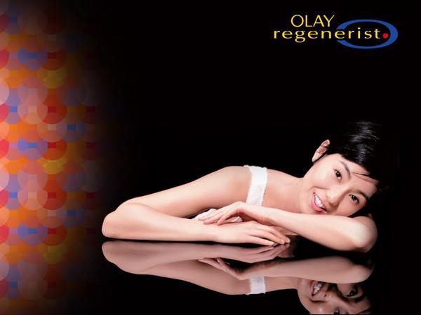 Звезды китайского и корейского кино рекламируют продукцию Оlay. Фото с kanzhongguo.com