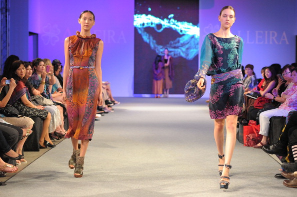 Показ колекції бренду Alleira Batik на шоу Blueprint 2011. Фото: Andri Tei / Getty Images