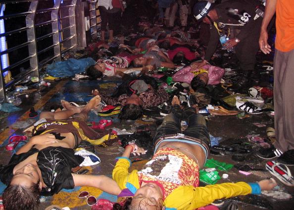 На «Водному фестивалі» в Камбоджі загинуло близько 450 осіб. Фото: ТАН CHHIN Sothy / AFP / Getty Images