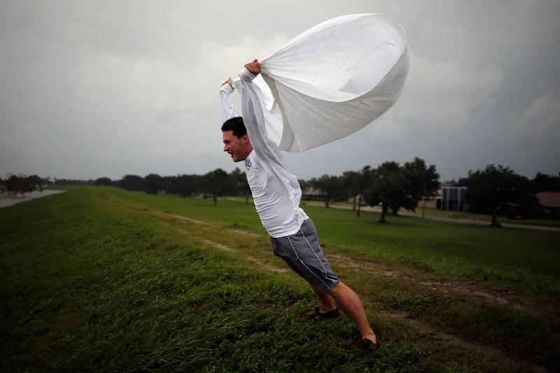 Новый Орлеан, США, 28 августа. На побережье штата Луизиана ожидается прибытие урагана «Исаак». Фото: Chris Graythen/Getty Images