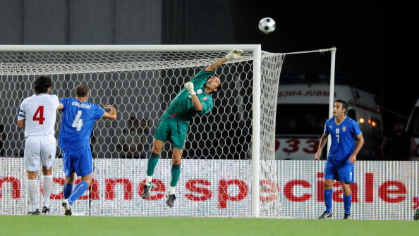 Италия-Грузия фото: VANO SHLAMOV,Claudio Villa/Getty Images Sport