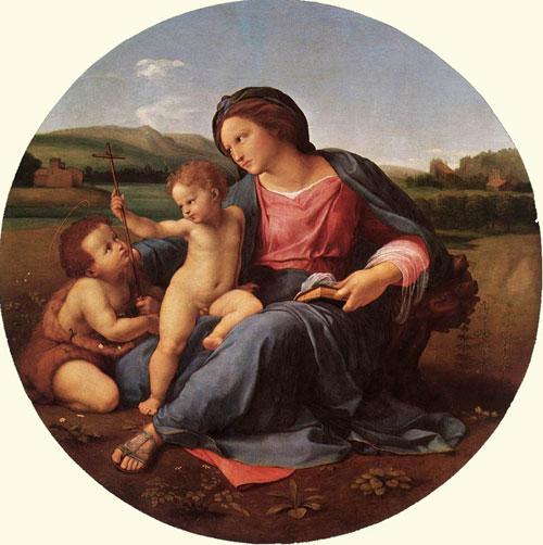Рафаэль. Мадонна Альба. Национальная галерея искусства, Вашингтон, США