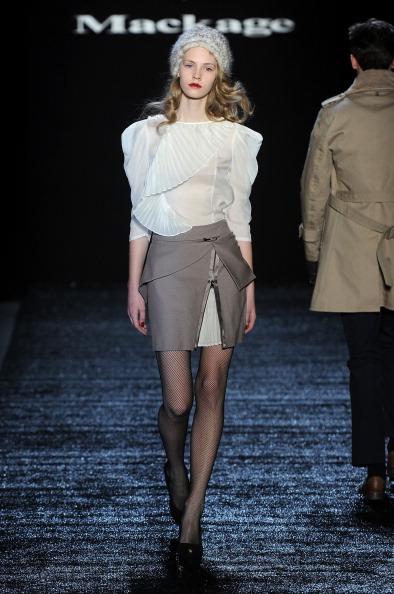 Коллекция от Eran Elfassy и Elisa Dahan на Mercedes-Benz Fashion Week. Фото: Frazer Harrison/Getty Images for IMG
