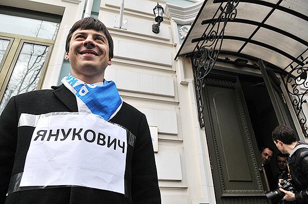 Акція на підтримку прийняття закону «про доступ до публічної інформації» відбулася у Києві 1 листопада 2010 року. Фото: Володимир Бородін/The Epoch Times Україна