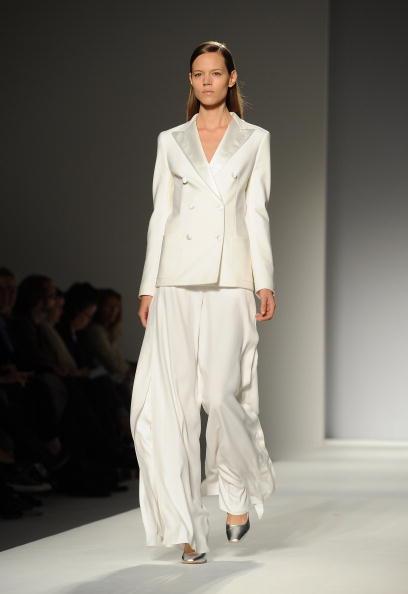 Презентація колекції Max Mara Весна / Літо 2011 на Тижні моди в Мілані. Фото Tullio M. Puglia/getty Images