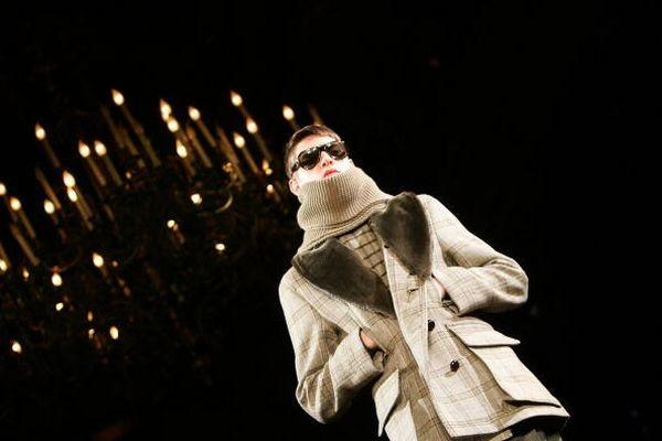 Чоловіча колекція від Ів Сен Лорана. Фото: Getty Images