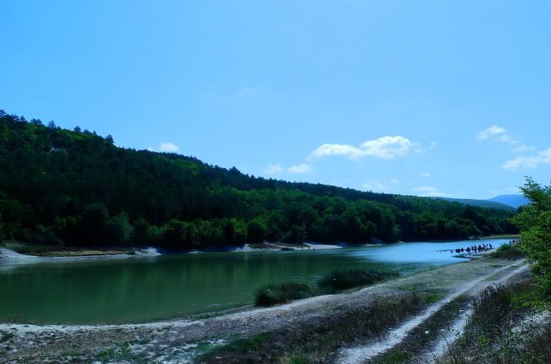 Качанська долина: осінь на озері. Фото: Алла Лавриненко/Велика Епоха