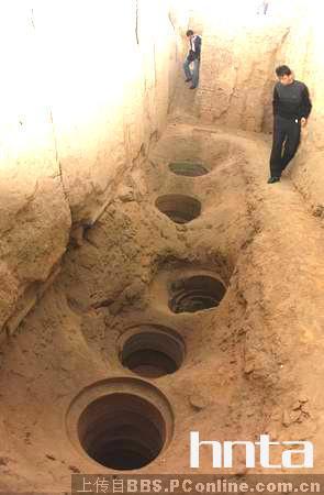 Древние холодильные камеры для хранения льда. Фото с itbbs.pconline.com.cn