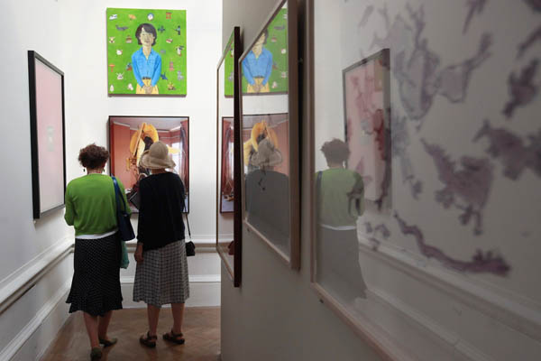 Летняя Выставка Королевской Академии Искусств. Фото: Oli Scarff/Getty Images