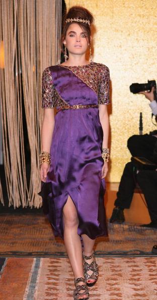 Презентація колекції під час Шанель Metiers d'art Fashion Show у Парижі. Фото Julien M. Hekimian/getty Images