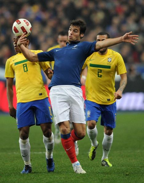 Франция - Бразилия Фото: PATRICK KOVARIK,FRANCK FIFE /Getty Images Sport