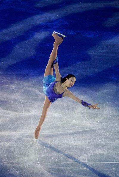 Показательное выступление на чемпионате мира-2008 в Гетеборге (Швеция). Фото: Jamie McDonald/Getty Images