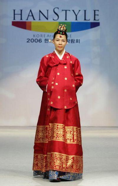 Корейские традиционные костюмы/фото: Chung Sung-Jun/Getty Images