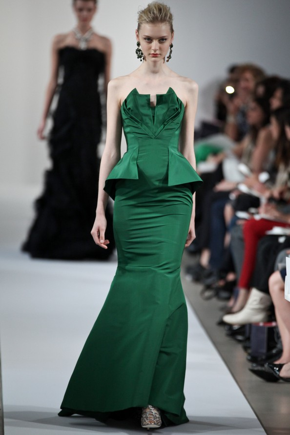 Курортная коллекция Resort 2013 от Oscar De La Renta. Фото: Thomas Concordia/Getty Images