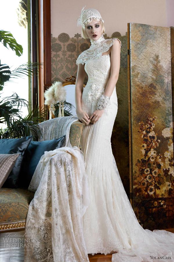 Мадемуазель Винтаж от Yolan Cris. Фото: weddinginspirasi.com