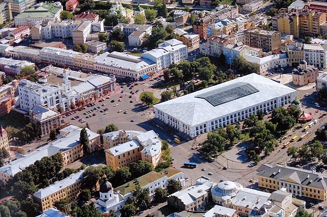 Нинішній вигляд Гостинного двору. Фото: kievcity.gov.ua