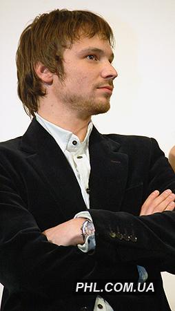 Російський актор Олексій Чадов під час презентації стрічки «Спека» в Києві 23 грудня 2006 р. Фото: http://phl.com.ua