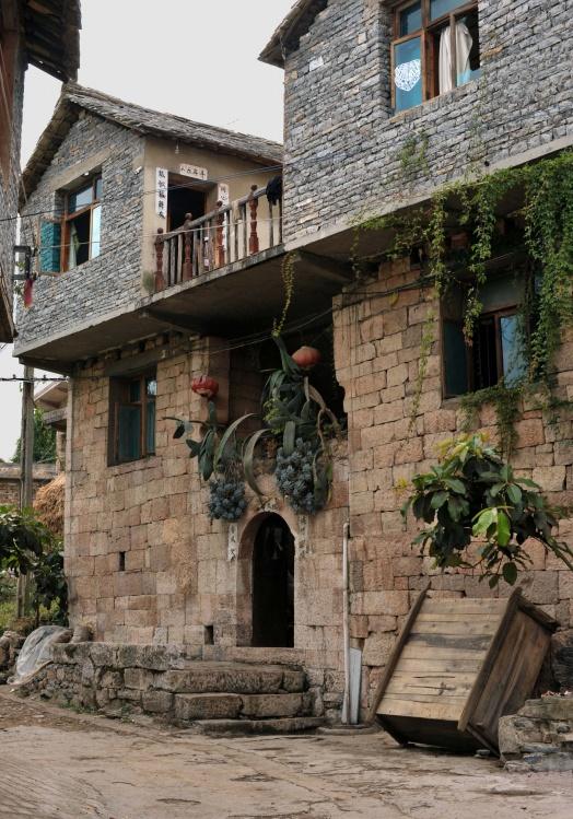 Каменный дом в деревне Шитоу. Фото: panyifu.blog.163.com