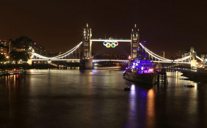 Лондон, Англія, 21 липня. Місто осяяла святкова ілюмінація. Фото: Fred Duval/Getty Images