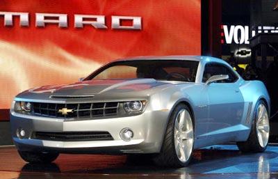 Нова модель Шевроле (Chevrolet Camaro). Фото: STAN HONDA/AFP/Getty Images