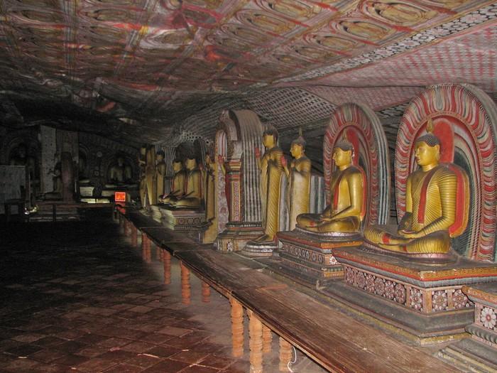 Печерний храм Дамбулла. Фото: mckaysavage/Flickr
