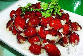 Китайский финик с рисовой начинкой. Фото с aboluowang.com