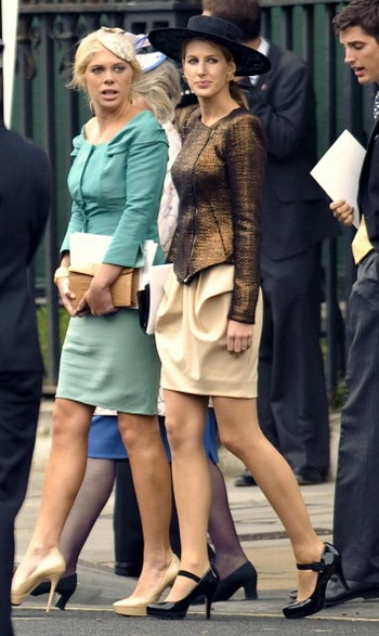 Челси Деви и Сусанна Уоррен. Фото: WPA Pool/Getty Images