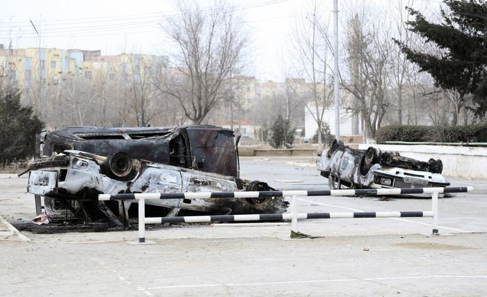Заворушення на заході Казахстану. Фото: gazeta.ru