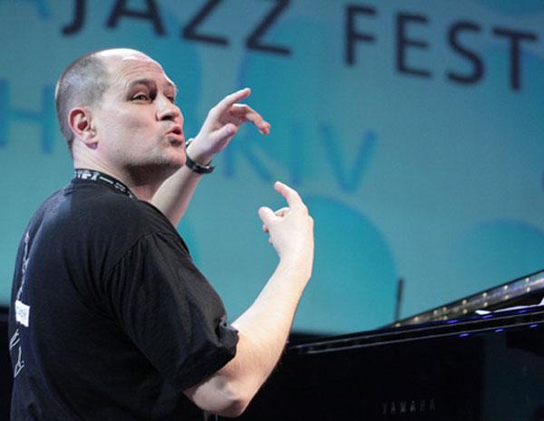Сергей Давыдов, один из известнейших украинских пианистов, арт-директор фестиваля/ фото:Катерина Кушнаренко