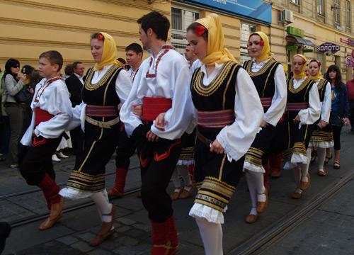 Праздничное шествие по случаю 753-летия Львова. Фото: Юлия Ламаалем/The Epoch Times
