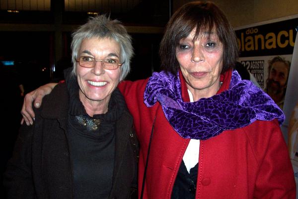 Художница Сильвина Феррейра и её подруга Кристин. (The Epoch Times)
