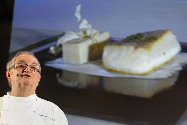 Іспанський шеф-кухар ресторану Arzak. Фото: TOSHIFUMI KITAMURA/AFP/Getty Images