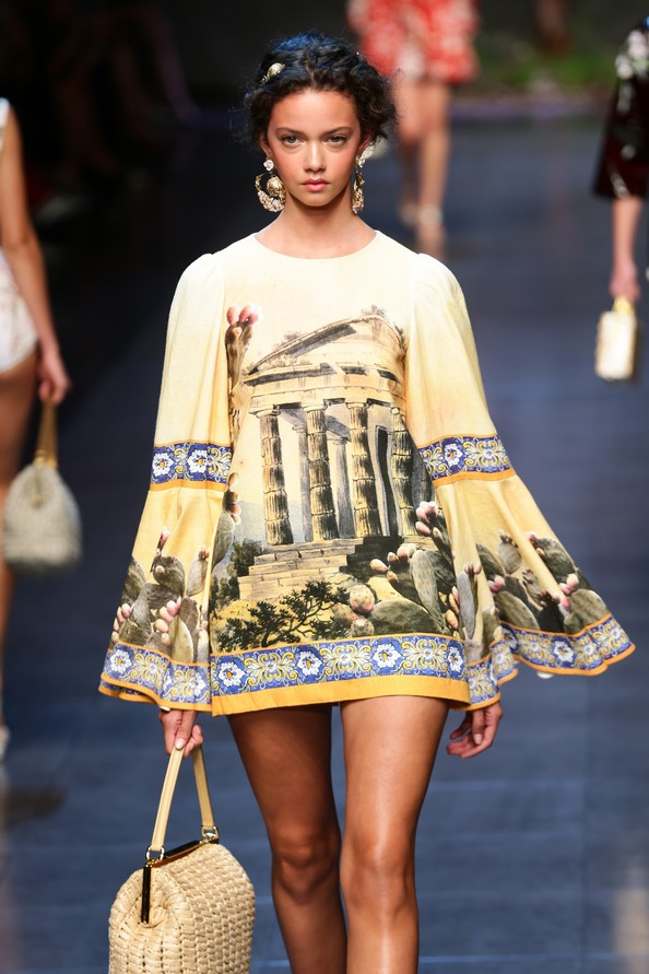 Dolce & Gabbana на Milan Fashion Week. Фото: Vittorio Zunino Celotto/Getty Images