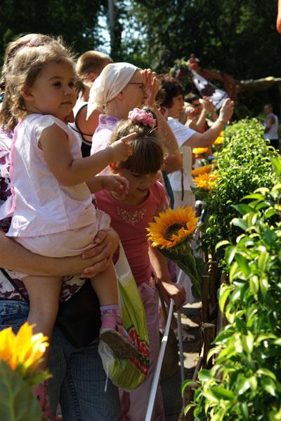 В Киеве проходит ежегодная городская выставка цветов. Фото: Владимир Бородин/The Epoch Times