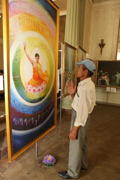 У Харкові в «Будинку Архітектора» завершила роботу Міжнародна художня виставка «The Art of Zhen Shan Ren». Фото: Велика Епоха