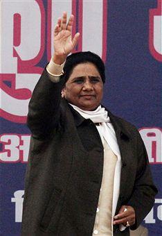 Премьер-министр штата Уттар-Прадеш Майавати Кумари. Фото: STRDEL/Getty Images