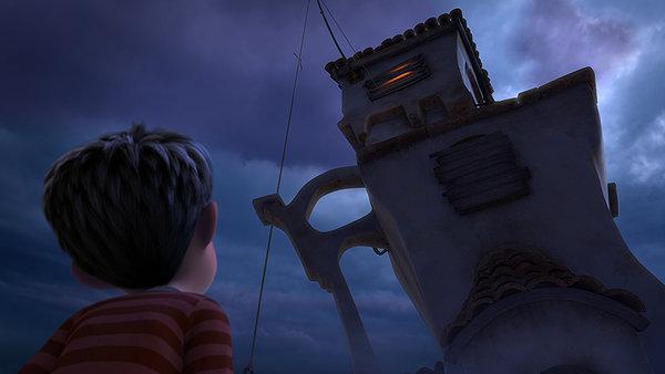 Кадр із 3D-мультфільму «Лоракс».